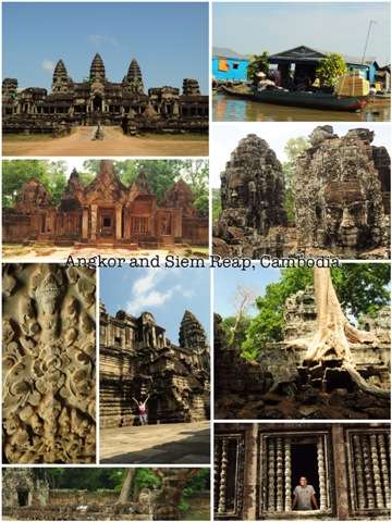 May 12-15: Siem Reap and Angkor, Cambodia