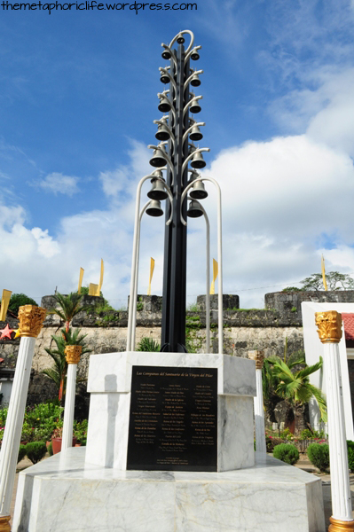 Each bell represents a different name for the Virgin Mary