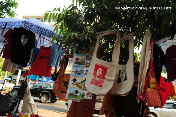 More Aung San Suu Kyi merchandise