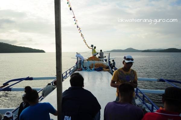 On the way to Siargao on a fine morning