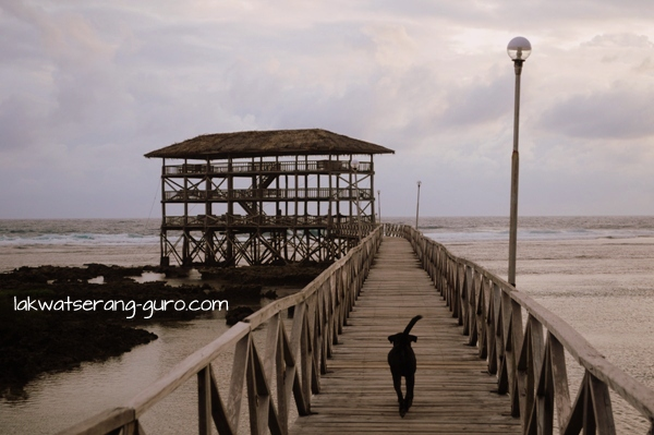 The Boardwalk at Cloud 9 in Siargao