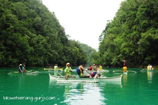 Jellyfish Lagoon in Sohoton, Bucas Grande