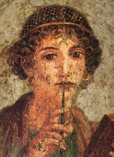 Sappho. Photo from Wikimedia Commons.
