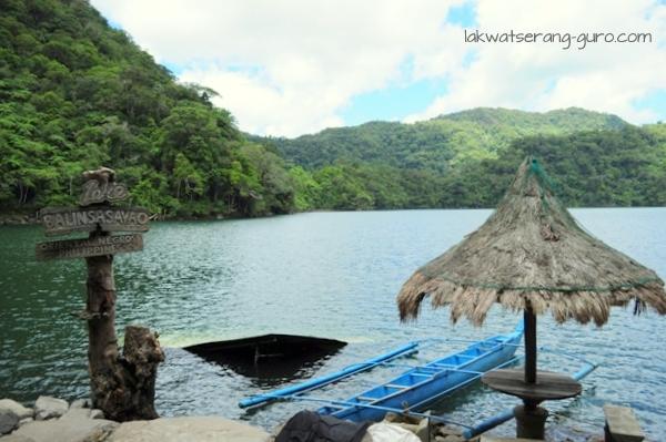 Balinsasayao Lake in Sibulan, Negros Oriental