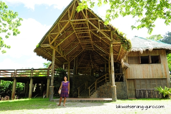 The Visitors' Center in the Balinsasayao Twin Lakes Natural Park