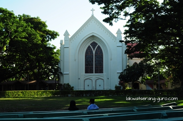 Silliman University chapel and amphitheater