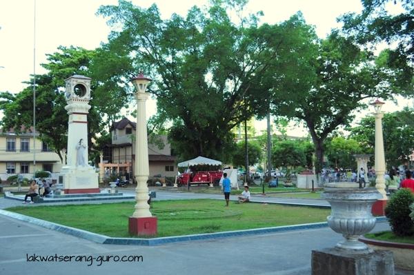 Dumaguete plaza