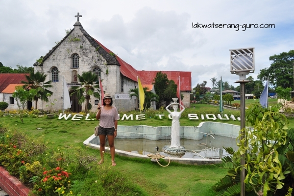 At the St. Francis of Assisi Church in Siquijor