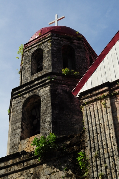 Lazi church belfry