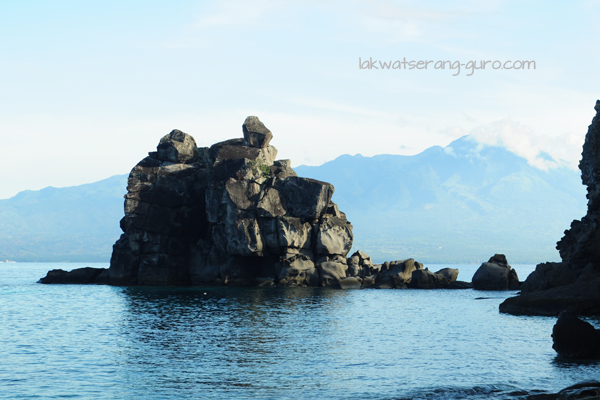 The Baluarte rock formation of Apo Island, Dauin, Negros Oriental