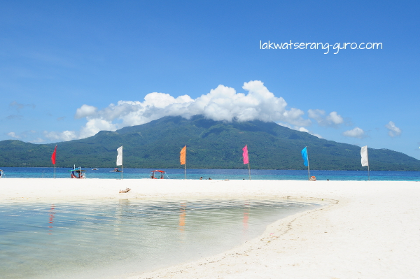 View of Camiguin from Mantigue Island