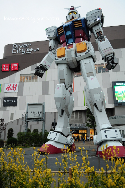 You HAVE to go to Odaiba to see this, though.