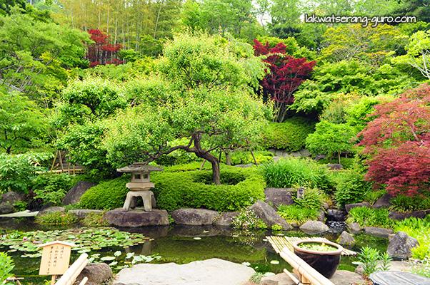 Gardens in Hase-dera