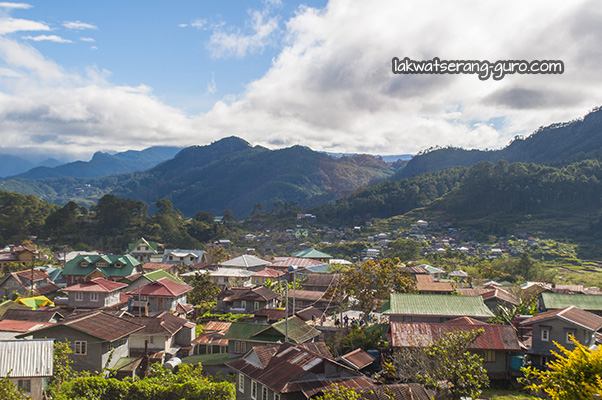 View from Sagada Homestay