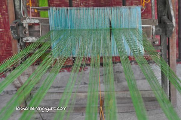 One of Bohol Bee Farm's livelihood projects is weaving.