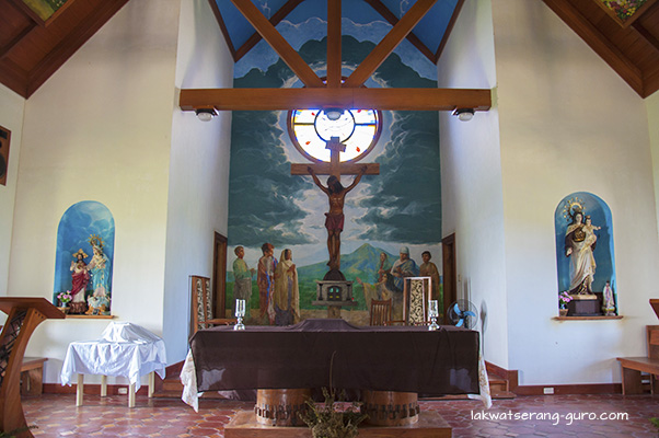 Altar of Mt. Carmel Chapel