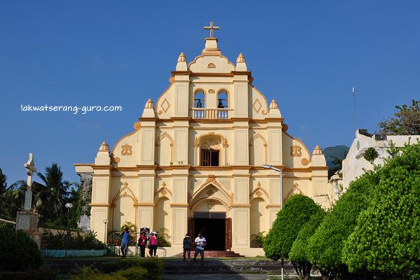 Sto. Domingo Cathedral in Basco