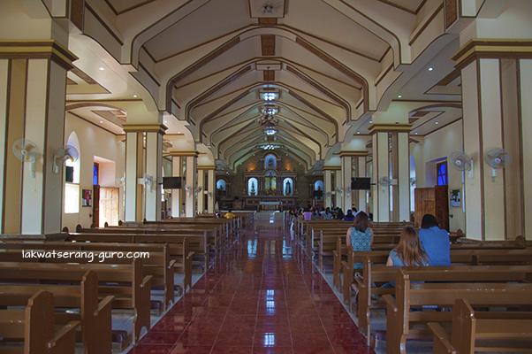Interior of Sto. Domingo cathedral