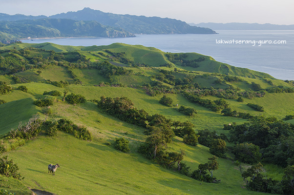 Gently sloping hills on the other side of Vayang Rolling Hills