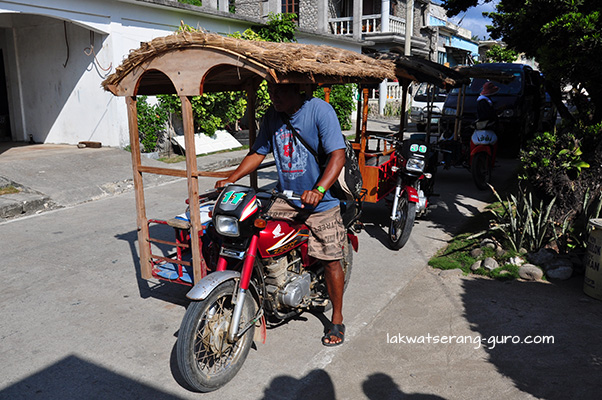 Tricycles in Sabtang